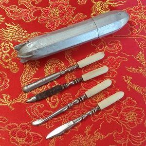 1940s Manicure Missile Kit Vintage